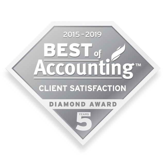 2019 Best of Accounting Client Diamond