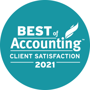 RINA Accountants & Advisors earned 2021 Best of Accounting Client for providing superior service in the Accounting industry