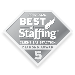 The Plus Group, Inc. earned 2020 Best of Staffing Client Diamond for providing superior service in the Staffing industry