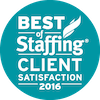 2016 Best of Staffing Client