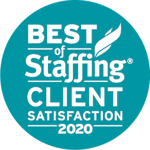 Thompson Technologies earned 2020 Best of Staffing Client for providing superior service in the Staffing industry