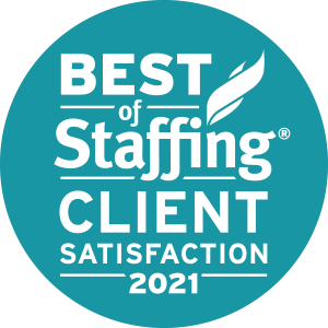 Medix earned 2021 Best of Staffing Client for providing superior service in the Staffing industry