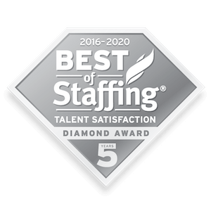 The Plus Group, Inc. earned 2020 Best of Staffing Talent Diamond for providing superior service in the Staffing industry