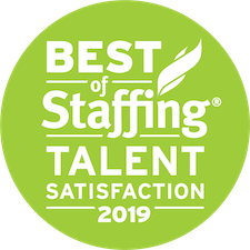 Accounting Now earned 2019 Best of Staffing Talent for providing superior service in the Staffing industry
