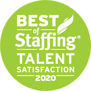 Thompson Technologies earned 2020 Best of Staffing Talent for providing superior service in the Staffing industry