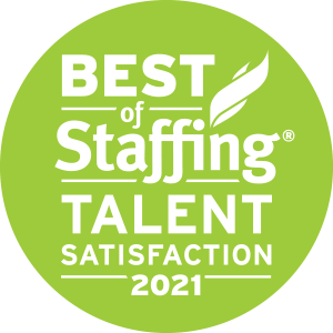 Planet Professional earned 2021 Best of Staffing Talent for providing superior service in the Staffing industry