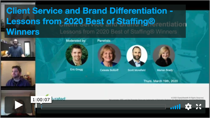 3.19.20 Client Service and Brand Differentiation